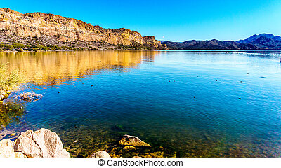 Saguaro Lake in Arizona