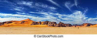 sahara άγονος , αλγερία