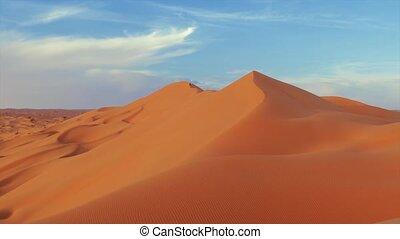 Sahara Desert landscape.