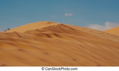 Sahara Landscape, Dunes and Wind - Typical landscape of the...