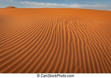 Sahara Sand Patterns, Erg Chebbi, Merzouga, Morocco
