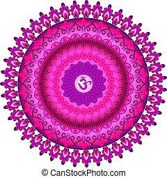 Sahasrara chakra symbol