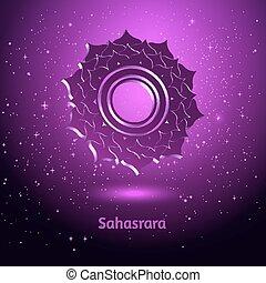 Sahasrara chakra.