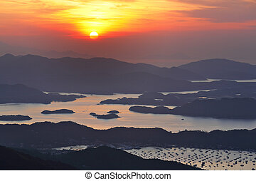 Sai Kung at morning, Hong Kong
