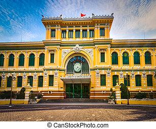 saigon, correos, vietnam central