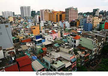 Saigon downtown