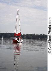 sail afloat
