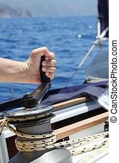 Sail Boat Winch