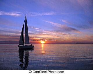 Romantic sail