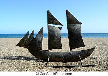 Sail Ship Toy Model