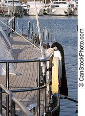 sail yacht deck