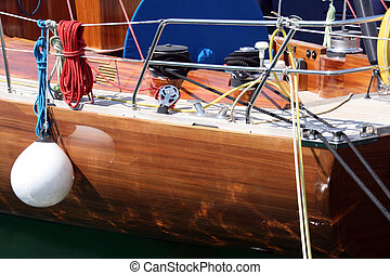 sail yacht details