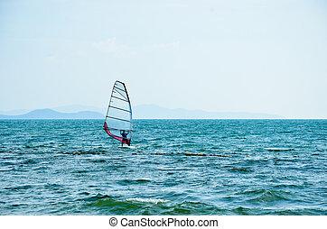 Sailboat at the Beach