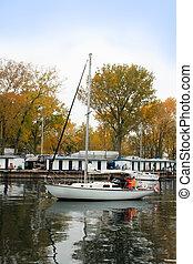 Sailboat at Toronto Island