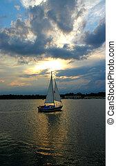 sailboat, contra, a