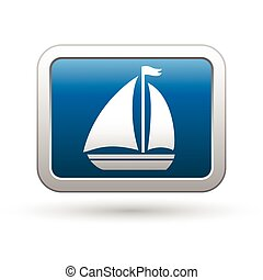 Sailboat icon on the blue button