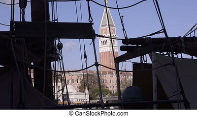 Sailboat in Venice