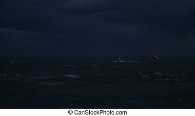 sailboat on a stormy night, part 1