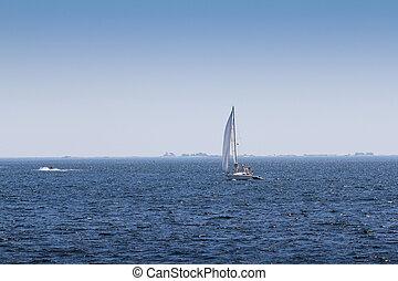 Sailboat on Georgian Bay