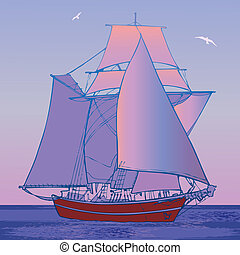 Sailboat.
