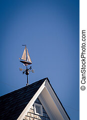 sailboat weather vane in nova scotia