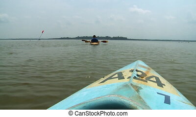 Sailing And Kayaking, Bukit Merah Lake town Resort - Wide...