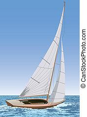 sailing barco