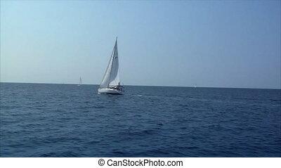 sailing boat to boat