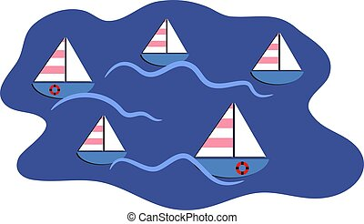 Sailing boats design