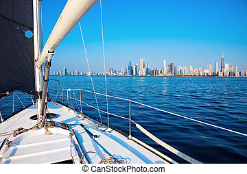 Sailing in Chicago