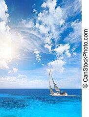 Sailing in Greece around Lefkas island - Sailing the Ionian...