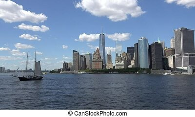 Sailing In New York City