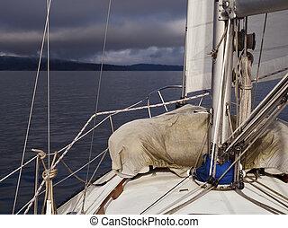 Sailing into a Storm
