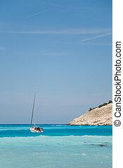 Sailing near the coast