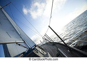 Sailing on the Baltic Sea