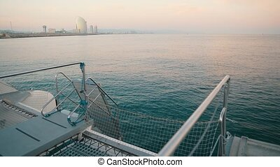Sailing race. Yachting in the Aegean sea. Luxury yacht. -...