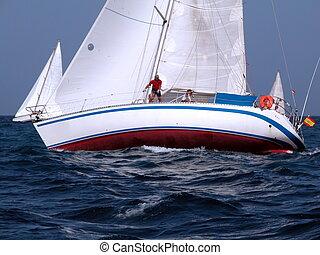 regatta in Canaries