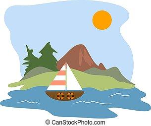 Sailing - Scenic sailing design