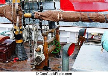 sailing ship winch