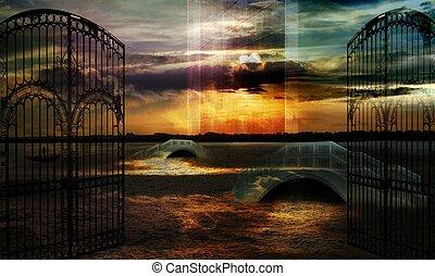 Sailing the memory - Sands of memory
