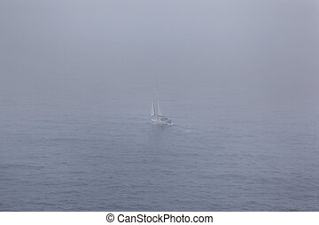 Sailing through fog