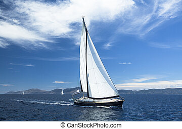 Sailing. Yachting. Luxury Yachts.