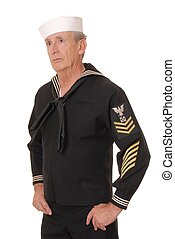 Sailor 16 - Old sailor from the United States Navy