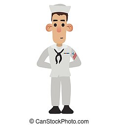 Sailor cartoon icon