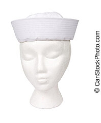 Sailor Hat Isolated with a Clipping Path