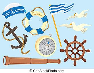 sailor icon doodle