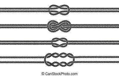 Sailor knot dividers set.
