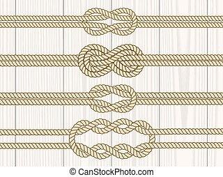 Sailor knot dividers set.