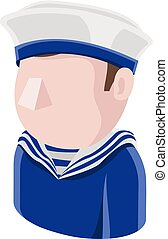 Sailor Man Avatar People Icon