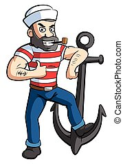 Sailor with Anchor